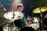 Michael Goodwin, baterista de The New Piccadillys (Purple Weekend Festival, León)