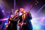 Keith Warwick -guitarra- y Mark Ferrie -bajo- de The New Piccadillys (Purple Weekend Festival, León)