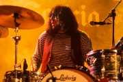 Esteban Grisey, baterista de Les Grys-Grys (Purple Weekend Festival, León)