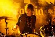 Martin Karlsson, baterista de The Strollers (Purple Weekend Festival, León)