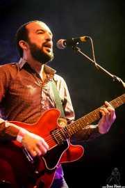 """Iván González """"Chapo"""", cantante y guitarrista de La Ruta (Purple Weekend Festival, León)"""