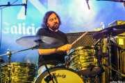 Mike Kamoo, baterista de The Loons (Purple Weekend Festival, León)