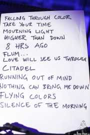 Setlist de The Flight Reaction (Purple Weekend Festival, León)