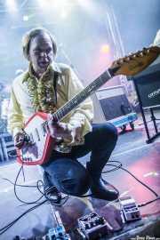 Måns P. Månsson, cantante y guitarrista de The Flight Reaction (Purple Weekend Festival, León)