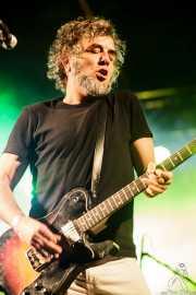 Xavi Cardona, cantante y guitarrista de Biscuit (Purple Weekend Festival, León)