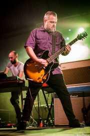 Armand Cardona -guitarra- y David Charro -teclado- de de Biscuit (Purple Weekend Festival, León)