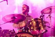 Mikey Post, baterista de Reigning Sound (Purple Weekend Festival, León, 2015)