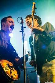 Mike Catanese -guitarra- y Benny Trokan bajo- de Reigning Sound (Purple Weekend Festival, León, 2015)
