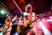 """Nash Kato -voz y guitarra- y Eddie """"King"""" Roeser -guitarra y voz- de Urge Overkill (Purple Weekend Festival, León, 2015)"""
