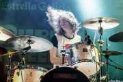 Nathan Arling, baterista de Urge Overkill (Purple Weekend Festival, León, 2015)