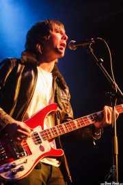 Ben Breslin, bajista de Slydigs (WOP Festival 2015, Bilbao, 2015)