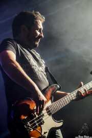 Txemi Gándara, bajista de Los Brazos (WOP Festival 2015, Bilbao, 2015)