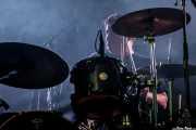 CoCo Owens, baterista de Cracker (WOP Festival 2015, Bilbao, 2015)