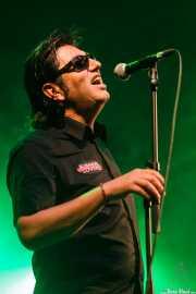 Juanjo Ibarra, cantante de Santiago Delgado y los Runaway Lovers (Santana 27, Bilbao, 2015)