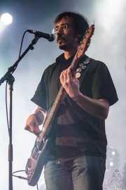 Julio Ortiz, bajista de Santiago Delgado y los Runaway Lovers (Santana 27, Bilbao, 2015)