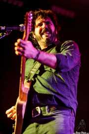 Pit Idoyaga, guitarrista y cantante de The Fakeband (Santana 27, Bilbao, 2015)