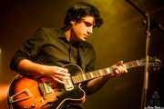 Roi Fontoira, cantante y guitarrista de The Limboos (Santana 27, Bilbao, 2015)