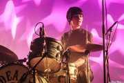 Daniela Kennedy, baterista de The Limboos (Santana 27, Bilbao, 2015)