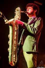 Daniel Niño, saxofonista de The Limboos (Santana 27, Bilbao, 2015)