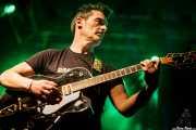 Manu Heredia, guitarrista de Dead Bronco (Santana 27, Bilbao, 2015)