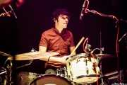 "Ramiro Nieto ""Rams"", baterista de Tulsa (Kafe Antzokia, Bilbao, 2016)"
