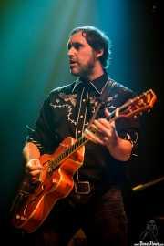 Alfredo Niharra, guitarrista y cantante de Tulsa (Kafe Antzokia, Bilbao, 2016)