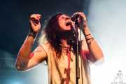 Craig McCabe, cantante de The River 68's (Santana 27, Bilbao, 2016)