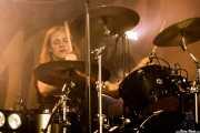 Rufus Tiger Taylor, baterista de The Darkness (Santana 27, Bilbao, 2016)