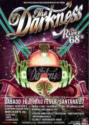 Cartel de The Darkness, diseñado por Nick Roche (http://nickroche.blogspot.com.es/2015/02/i-believe-in-thing-called-luck-or.html) (Santana 27, Bilbao, )