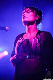 La China Patino, cantante de Cycle (Sala Stage Live (Back&Stage), Bilbao, 2016)