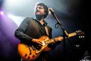 Juan Gumuzio, guitarrista de Still River (Kafe Antzokia, Bilbao, 2016)