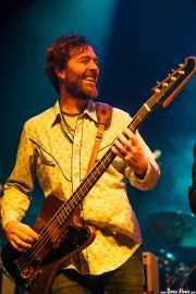 Txema Solano, bajista de Still River (Kafe Antzokia, Bilbao, 2016)