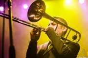 Juanan Diez, trombonista invitado de Still River (Kafe Antzokia, Bilbao, 2016)