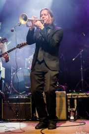 Javier Pérez Rouco, trompetista invitado de Still River (Kafe Antzokia, Bilbao, 2016)
