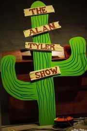 Cactus de atrezzo de The Alan Tyler Show (Colegio de Abogados, Bilbao, 2016)