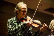 Jim Morrison, violinista y mandolinista de The Alan Tyler Show (Colegio de Abogados, Bilbao, 2016)