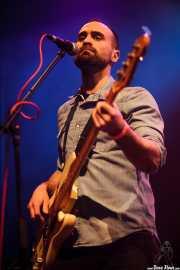 Lander Moya, bajista de Sonic Trash (Kafe Antzokia, Bilbao, 2016)