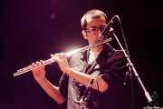 "Guillermo García ""Willie"", saxofonista, flautista de Diamond Heroes (Kafe Antzokia, Bilbao, 2016)"