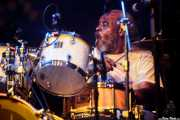 "Sinclair Sales, baterista de Lee ""Scratch"" Perry (Sala BBK, Bilbao, 2016)"
