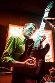 Simon Wild, guitarrista de Oh! Gunquit (Hika Ateneo, Bilbao, 2016)