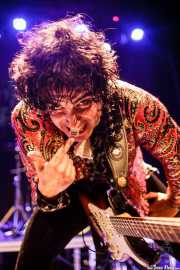 Brian Nonell, guitarrista de The Golden Grahams (Bilborock, Bilbao, 2016)