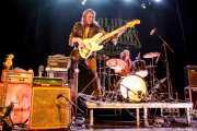 Eddy Ray -voz y bajo- y Gerard HalfVille -batería- de The Golden Grahams (Bilborock, Bilbao, 2016)