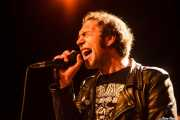 Kurt Baker, cantante de Bullet Proof Lovers (Intxaurrondo K.E., Donostia / San Sebastián, 2016)