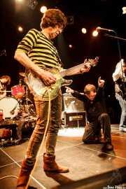 Cyril Jordan -guitarra y voz- y Roy Loney -voz y guitarra- de Flamin' Groovies (Intxaurrondo K.E., Donostia / San Sebastián, 2016)