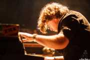 Gertjan Gutman, organista y bajista de Birth of Joy (Kafe Antzokia, Bilbao, 2016)