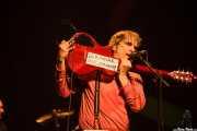 Sid Griffin, cantante, guitarrista y armonicista de The Long Ryders (Social Antzokia, Basauri, 2016)