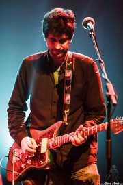 Álvaro Luna, cantante y guitarrista de Yellow Big Machine (Social Antzokia, Basauri, 2016)