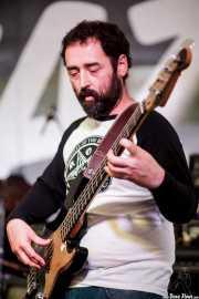 "Alex Del Río ""Purdi"", bajista de Grand Matter (Plaza Solobarria, Basauri, 2016)"