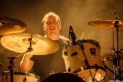 Alejandro Galiano, baterista de Santo Rostro (Santana 27, Bilbao, 2016)