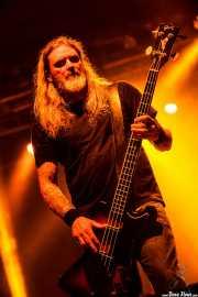 Rob Hultz, bajista de Trouble (Santana 27, Bilbao, 2016)